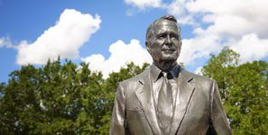 Statue of George H.W. Bush